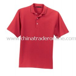 Ottoman Rib Sport Shirt with Open Hem Sleeves