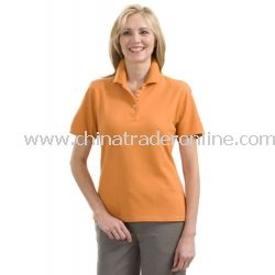 Red House Ladies 100% Organic Cotton Pique Polo