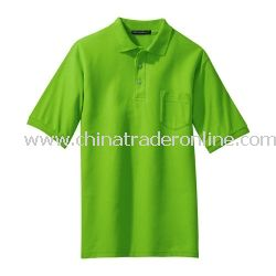Silk Touch Sport Shirt with Pocket