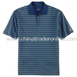 Tiger Woods Dri-FIT Jersey Stripe Sport Shirt
