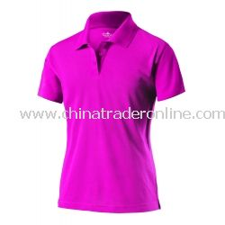 Womens Signature Pique Polo
