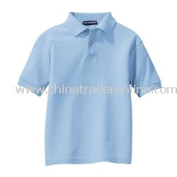 Youth Silk Touch Sport Shirt