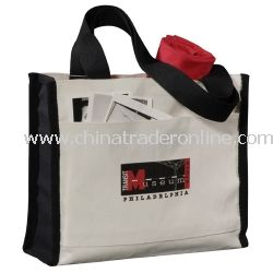 Boxy Cotton Tote Bag from China