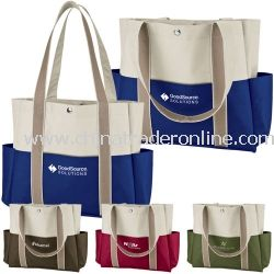 Carry All Pocket Personalized Tote Bag