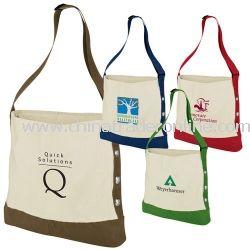 Cotton Grommet Fashion Tote Bag