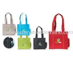 Double Stitch Logo Tote Bag