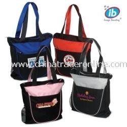 Duo-Tone Zippered Trade Show Bag