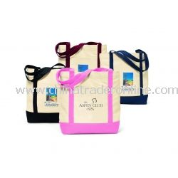 Ensigns Boat Cotton Tote Bag