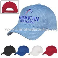 Jersey Mesh Custom Cap