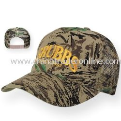 Mesh Back Camouflage Custom Cap from China