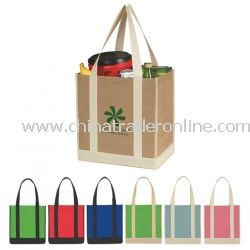 Non Woven Two Tone Recycled Tote Bag