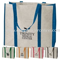Oversized Eco-Friendly Recycled Tote Bag