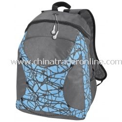 Paint Splatter Personalized Backpack