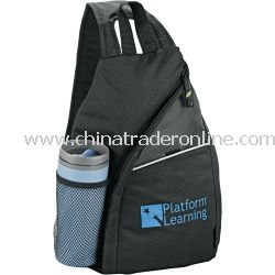 Tempo 100% Recycled PET One Shoulder Backpack from China