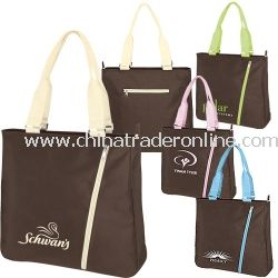 Chocolate Personalized Tote Bag