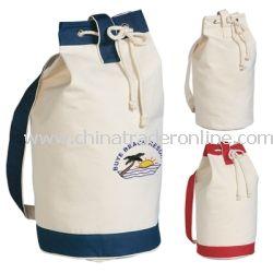 Drawstring Heavy Cotton Tote Bag
