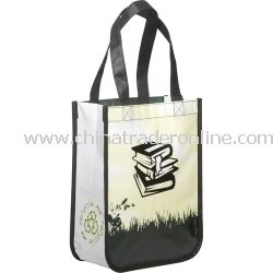 Green Grass Laminated Small Shopper Non Woven Bag