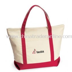 Harbor Cruise Cotton Tote Bag
