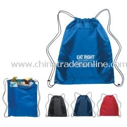 Insulated Custom Drawstring Backpack