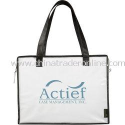 Laminated Box Zippered Non Woven Bag