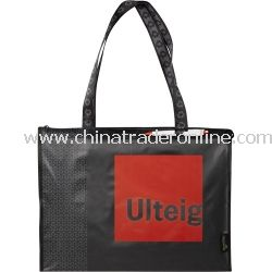 Laminated Loop Zippered Non Woven Bag