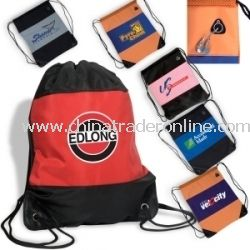Microfiber Promotional Cinch Bag from China