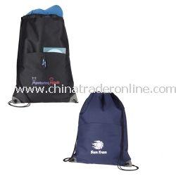 Profiles Drawstring Cinch Bag
