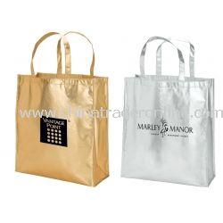 Teramo Metallic Fashion Tote Bag