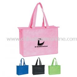 Zippered Top Polypropylene Bag