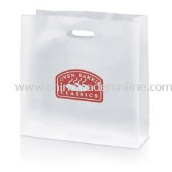 Blossom 12 1/2-inch Frosted Gift Bag