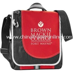 Boomerang Promotional Messenger Bag With Side Mesh Pocket