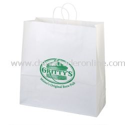 Duke 18-inch Kraft Gift Bag from China
