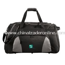 Excel 26-inch Wheeled Travel Promotional Duffel Bag