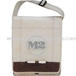 Jute Non-Woven Evolution Promotional Messenger Bag from China