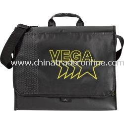 Laminated Non-Woven Loop Promotional Messenger Bag