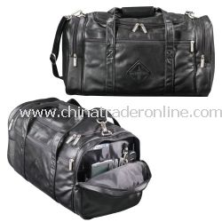 Millennium Leather 20-inch Promotional Duffel Bag