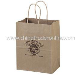 Mini 7 3/4-inch Kraft Eco-Friendly Paper Bag