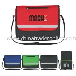 Non Woven Reflective Messenger Bag with Logo