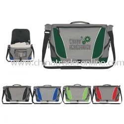 Pocketed Promotional Messenger Bag