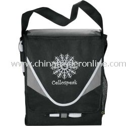 PolyPro Non-Woven Crescent Promotional Messenger Bag