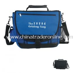 Promotional Messenger Bag With High Tech Rubber Handle