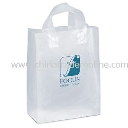 Sparkle 10-inch Frosted Gift Bag from China