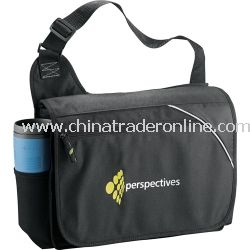 Tempo 100% Recycled PET Urban Promotional Messenger Bag