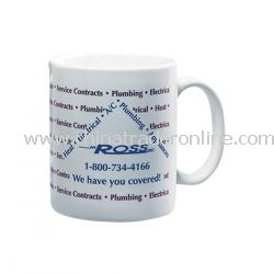 11 oz. White Promotional Coffee Mug