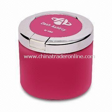 Ashtray, Ideal for Car, Different Colors and Shapes are Available