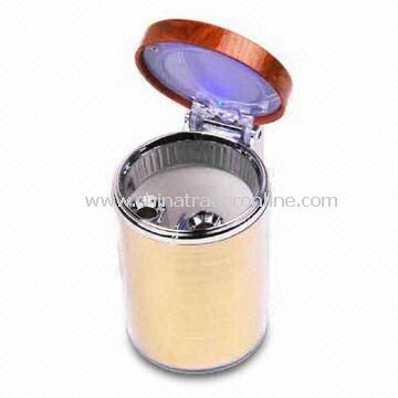 Ashtray, Suitable for Cars, Various Colors and Shapes are Available