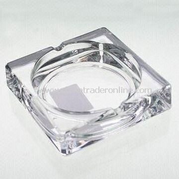 Ashtray with Size of 10 x 10 x 2.7cm
