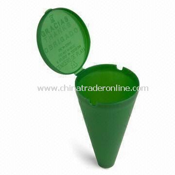 Beach Ashtray, with Customized Logo Printing, Perfect for Promotional Purposes