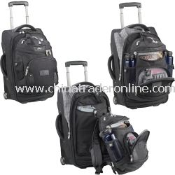 Carry-On Rolling Bag with Rem DayPack
