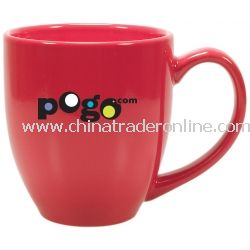 Color Ceramic Bistro Coffee Mug